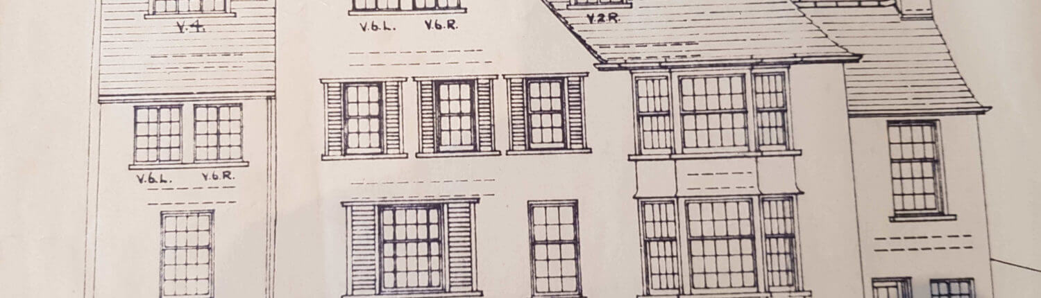 Bramhall Surveyors. Building Plan of an old traditional house